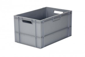 5069134 - 550430801 - BAC GERBABLE STANDARD NORMES EUROPE 60 LITRES - 600 X 400 X 320 MM