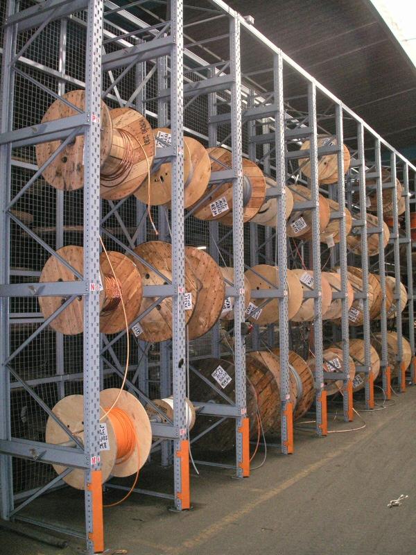 rayonnage à palette stockage industriel