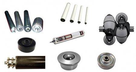 rouleaux de manutention PVC - acier inox - MSI France