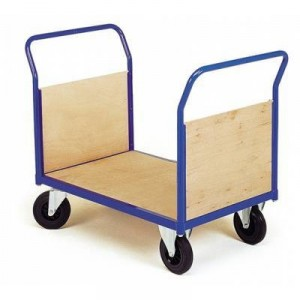 chariot d'atelier MSI 2 dossiers amovibles bois 75-m
